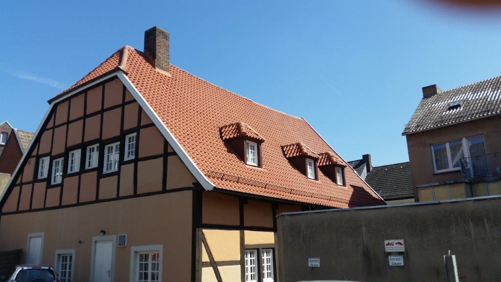Ein neues Dach für das Ackerbürgerhaus, Beckum
