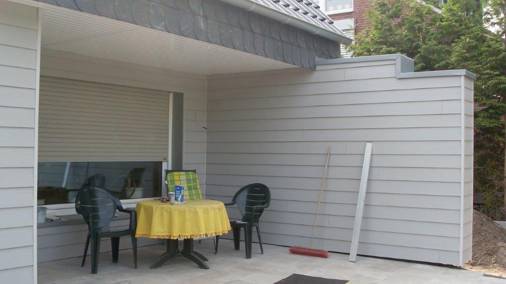 Fassadenverkleidung Einfamilienhaus